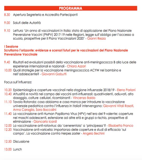 Calendario Vaccini 2020.Vaccinazioni Un Futuro Di Salute 2019 Farecomunicazione E20